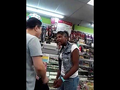 on Asian sex tape caught