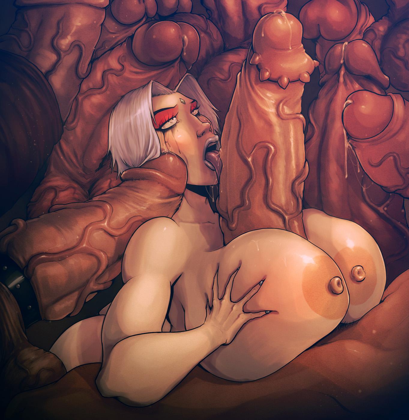 anime Big sex dick