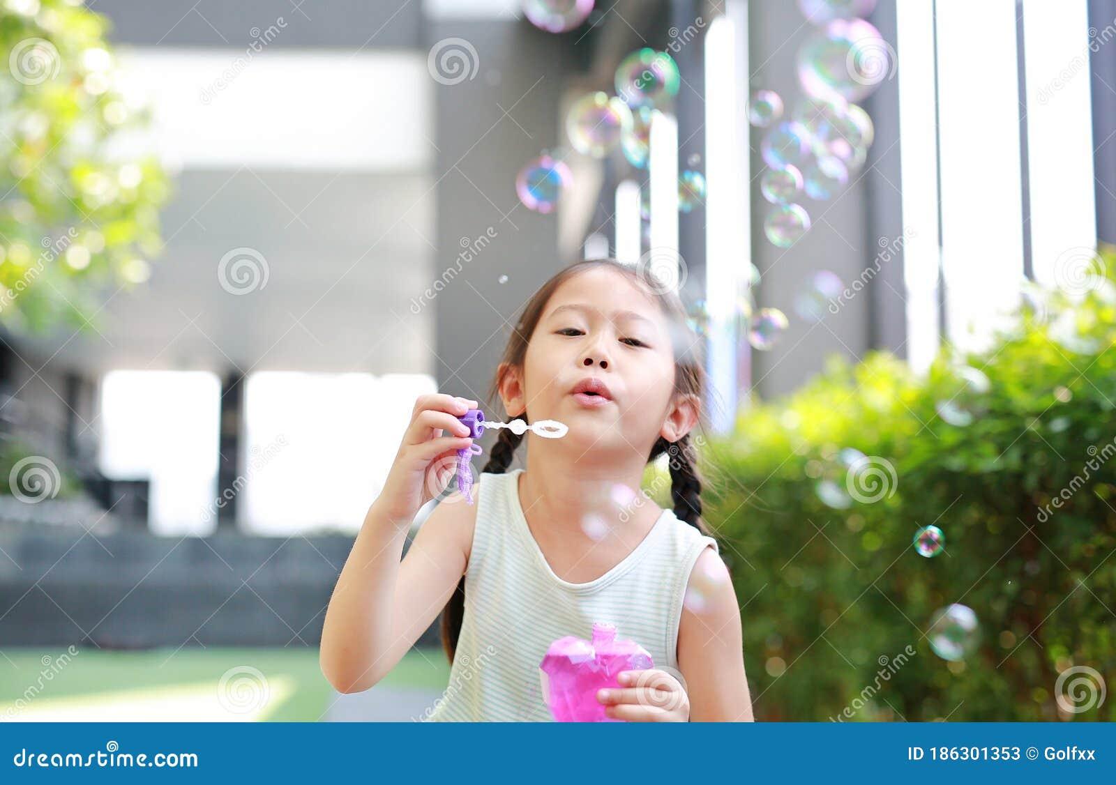wanking asian Bubble outdoor