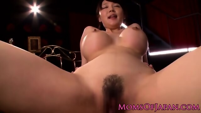 POV Busty asian watching