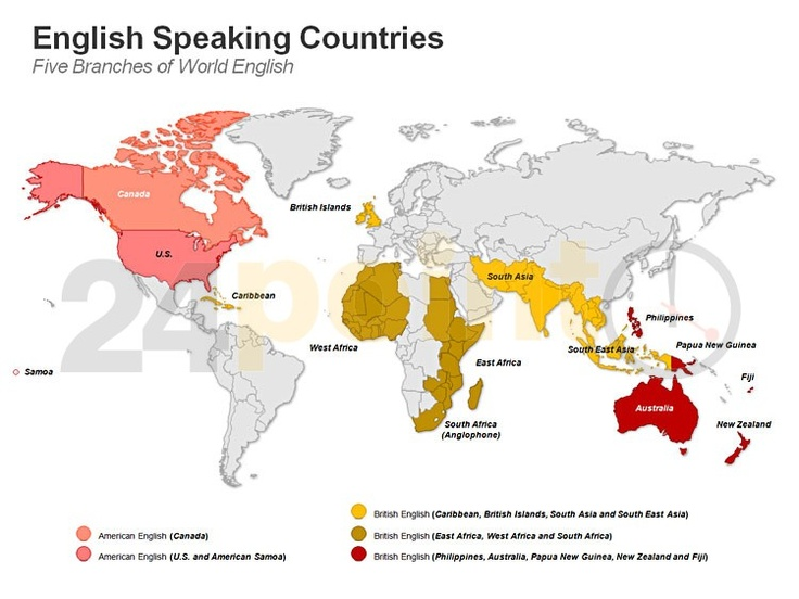 speaking english Asian country