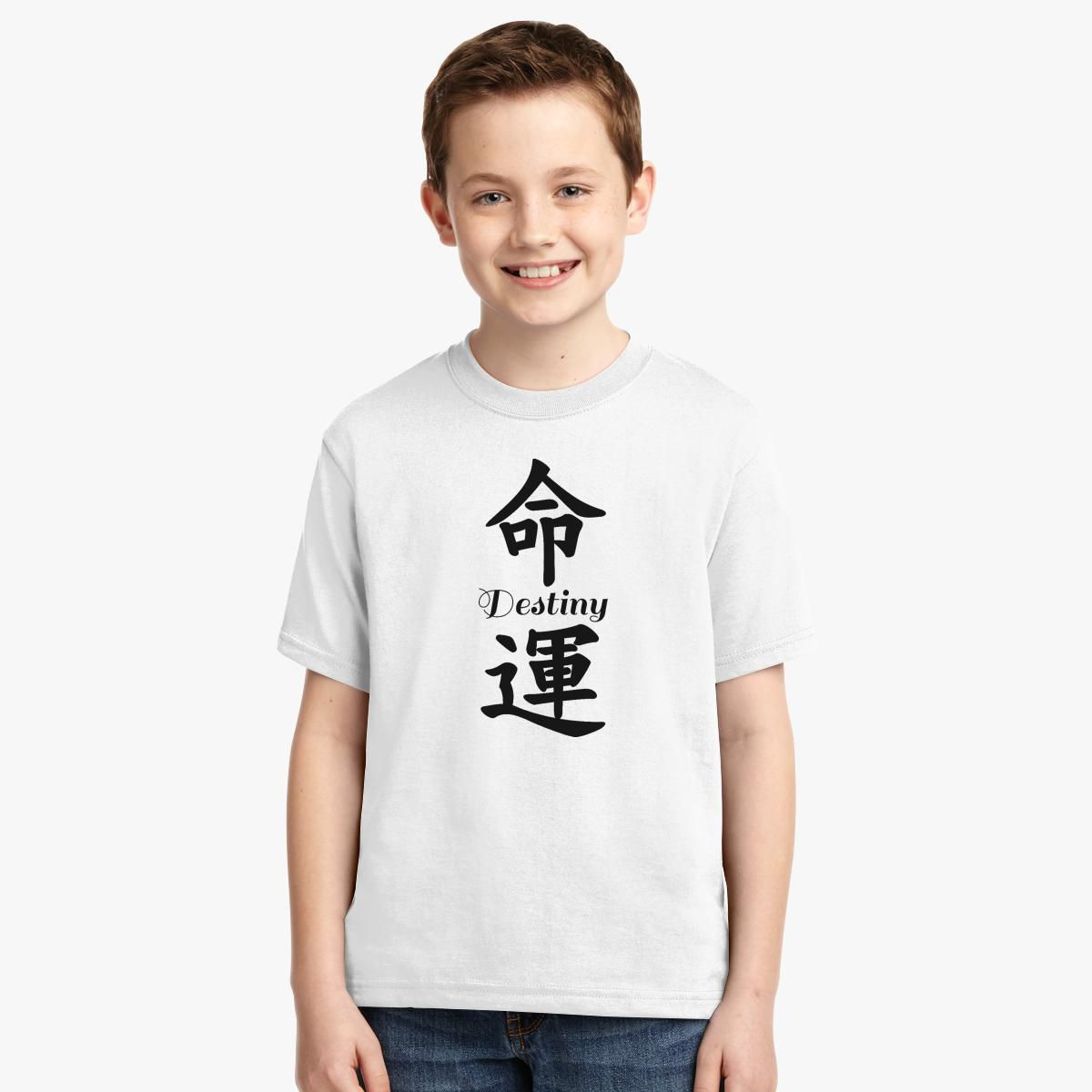Chinese lettering t shirt fuck you