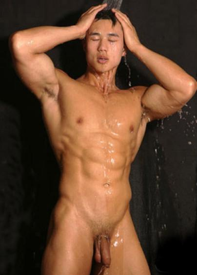 photo naked Chinese man