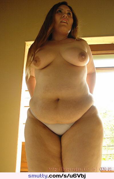 Big korean naked ass