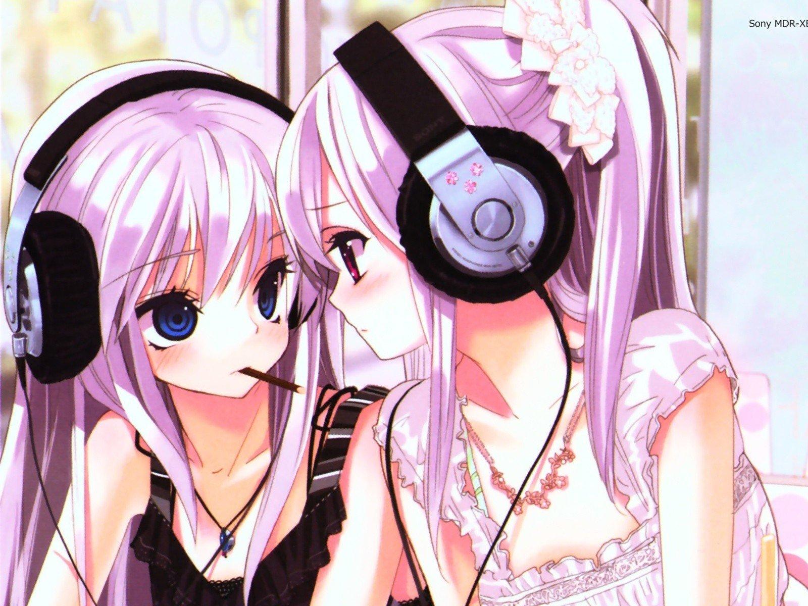 anime teen girls Cute