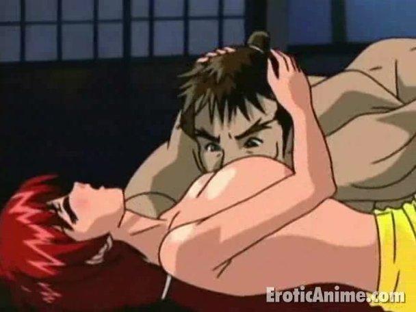 boob licking girls Anime