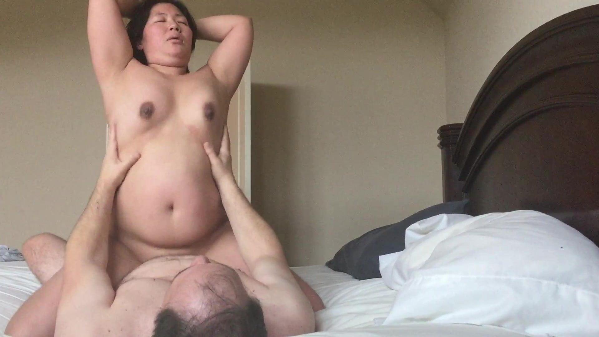 wife otngagged Cumming asian