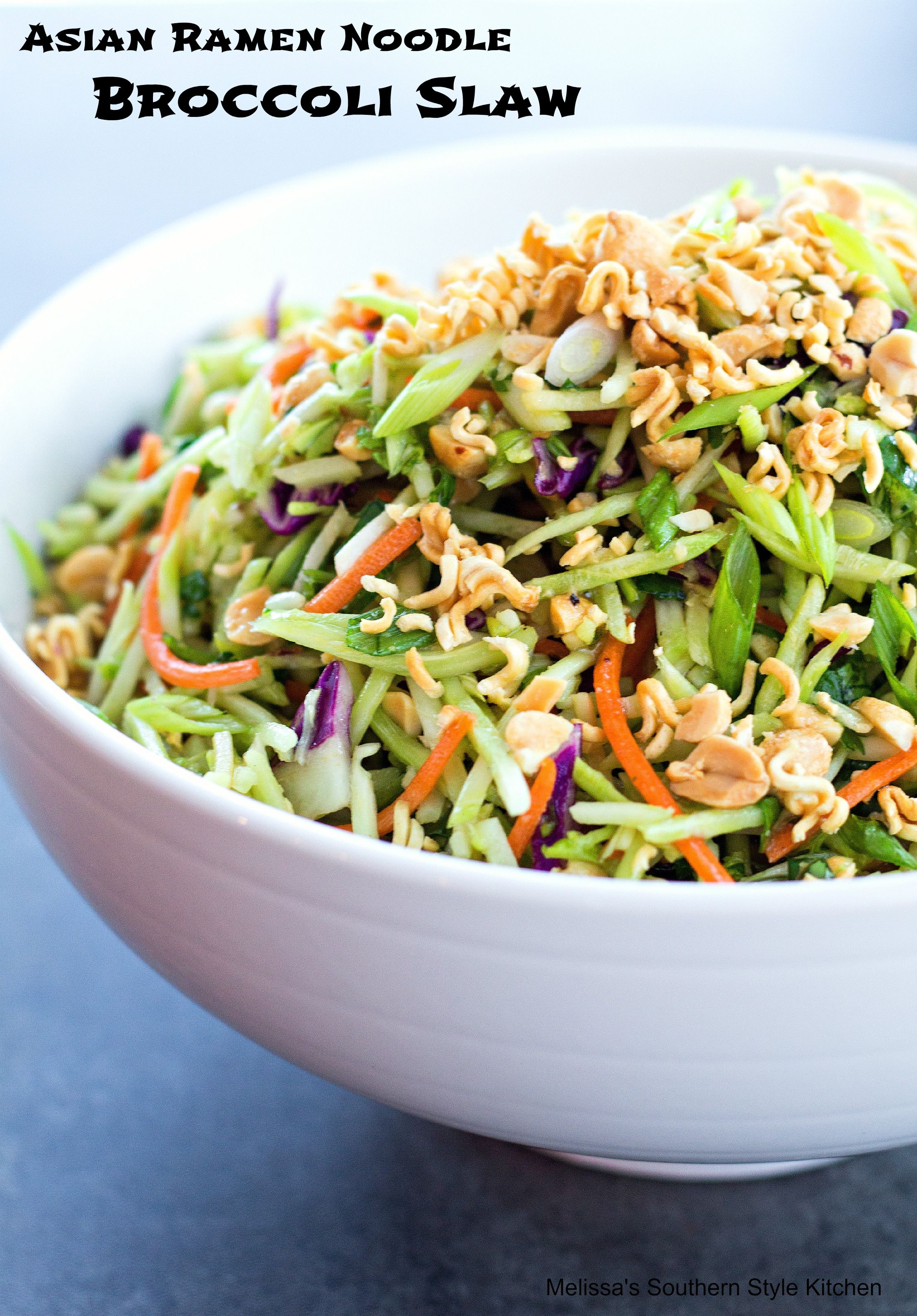 Broccoli salad receipe with asian noodles