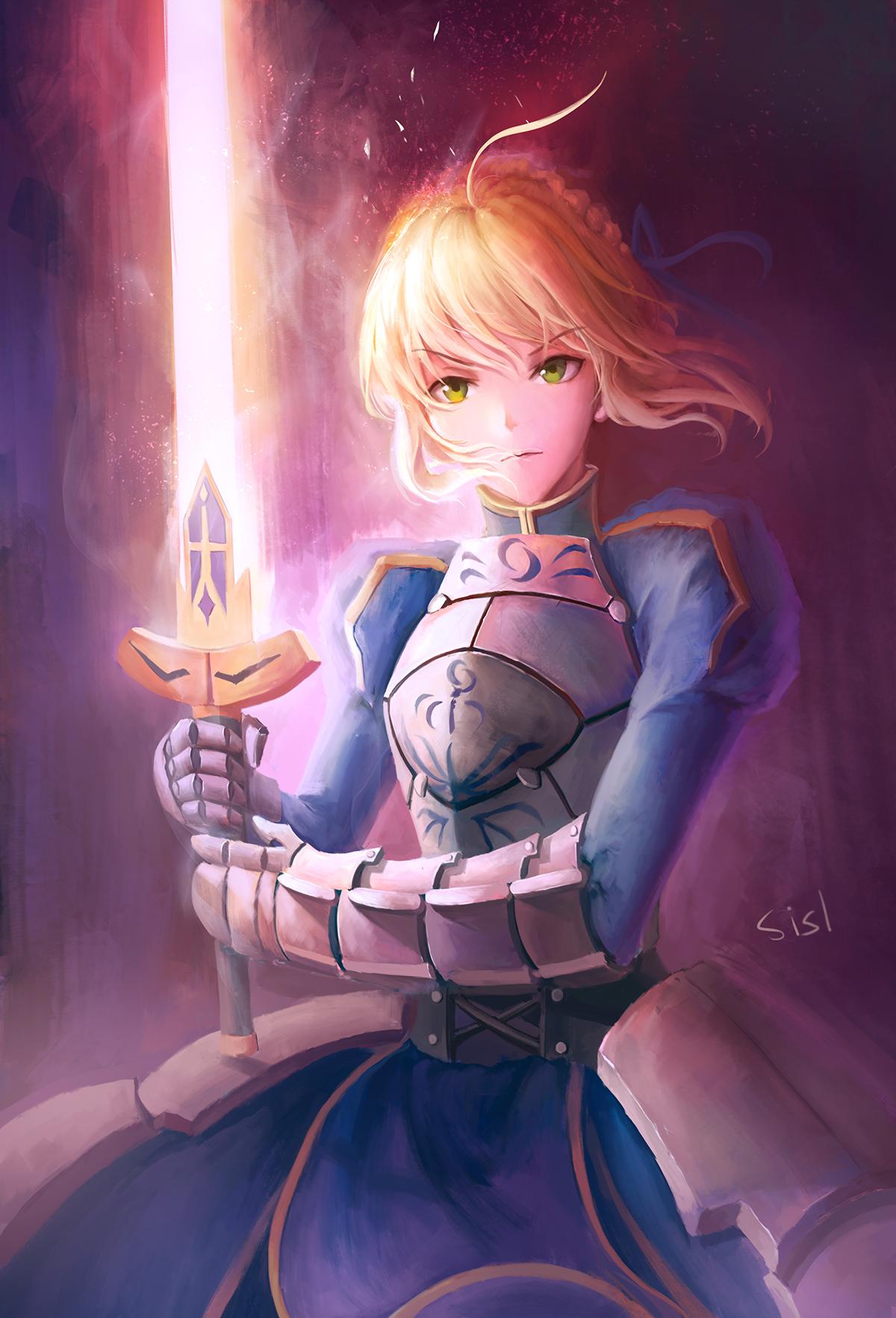 night anime Fate/stay