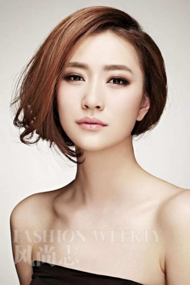 an asian How to hairstyle make