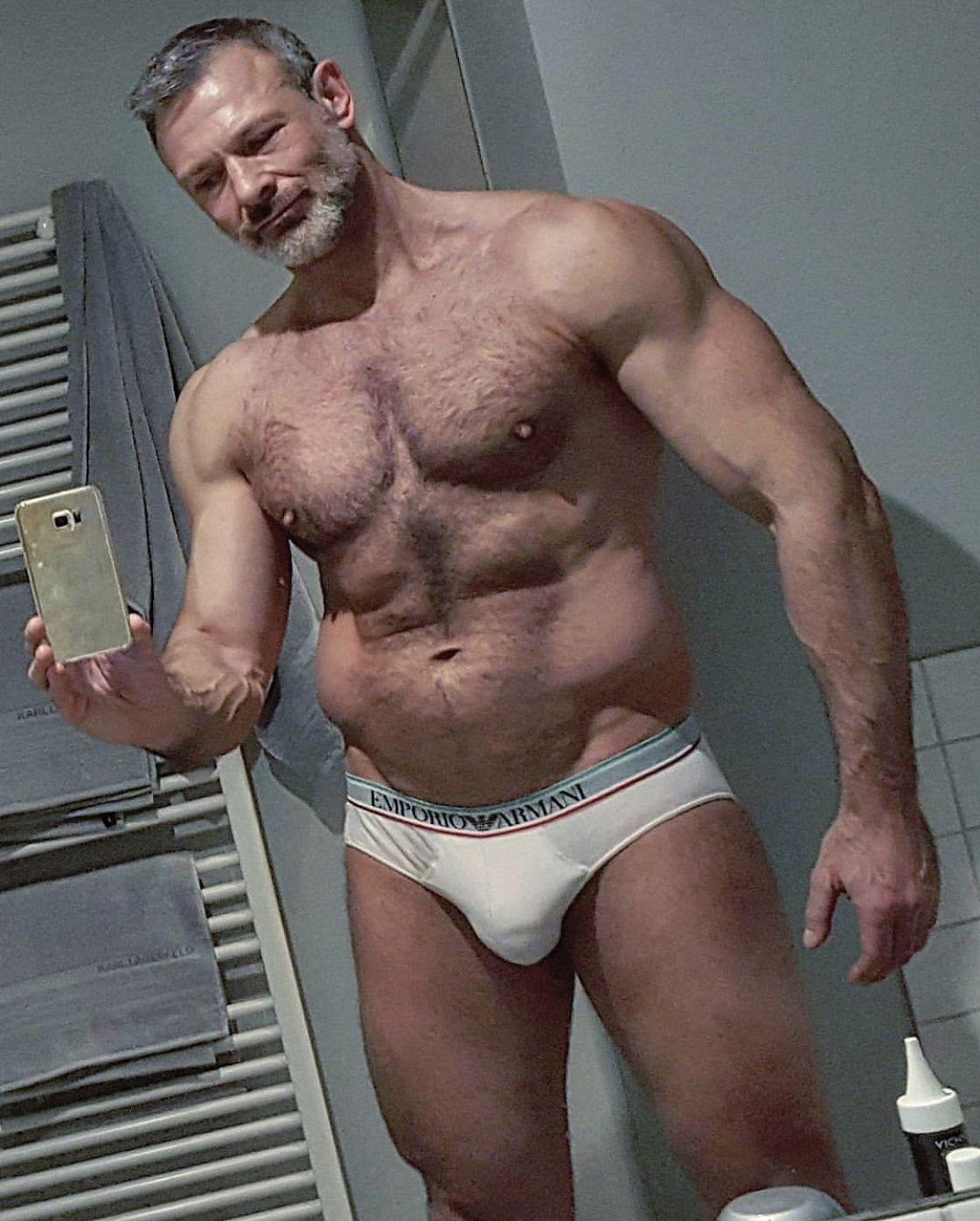 Messy shorts asian daddy