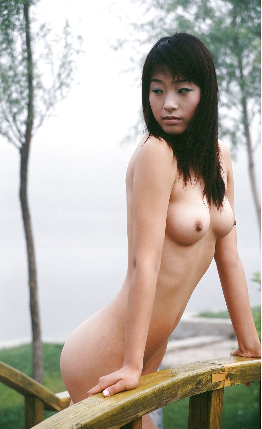 Naked chinese tits