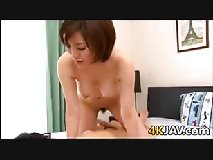 POV asian housewife bubble