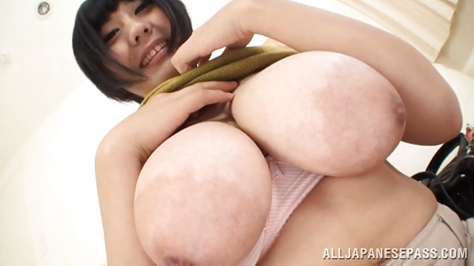 The biggest boobs in japan